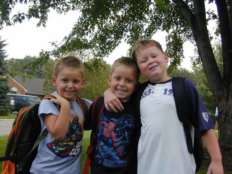 1st Day of School 2004